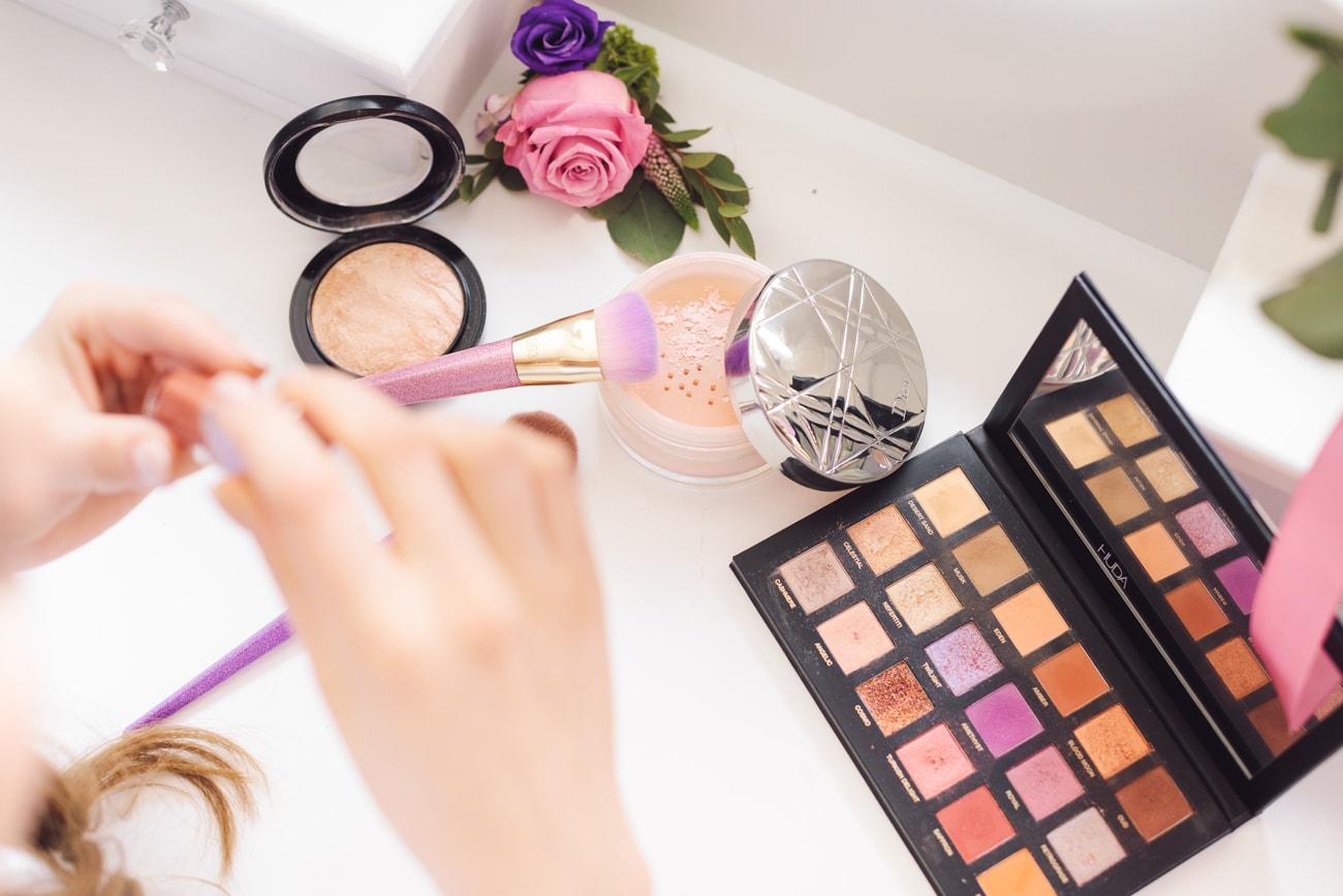 Profesjonalne kosmetyki do makijażu oczu i twarzy